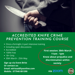 Recognising and Safeguarding Against Knife Crime
